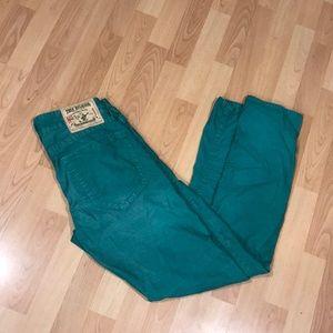 True Religion Green Jeans - Size 30 - Best Style